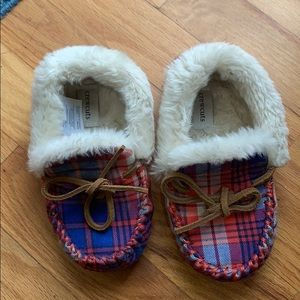 Crewcuts toddler slippers